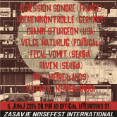NKC / SundayNoise: Uradni zaključek festivala ZNFI ( Zasavje Noisefest International )