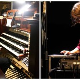 NKC/Sundaynoise & KUD Mreža : koncert v cerkvi Sv.Petra – Annette Krebs / Jean-Luc Guionnet