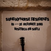 SundayNoise Residents 19-21 oktober 2018