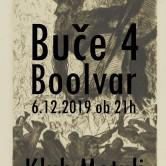 SundayNoise: Buče 4 & Boolvar at Klub Metulj